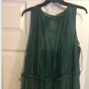 Azazie Frederica Dark Green Bridesmaids Dress